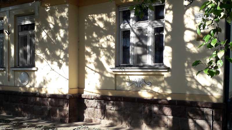 Veszprém, Egyetem utcai irodaház